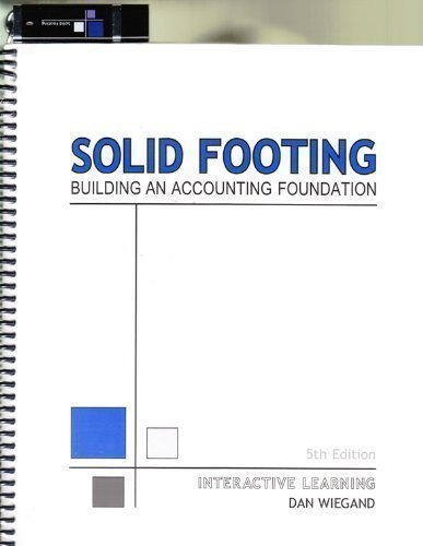 9780979671036: Solid Footing - Building an Accounting Foundation (Interactive Learning)