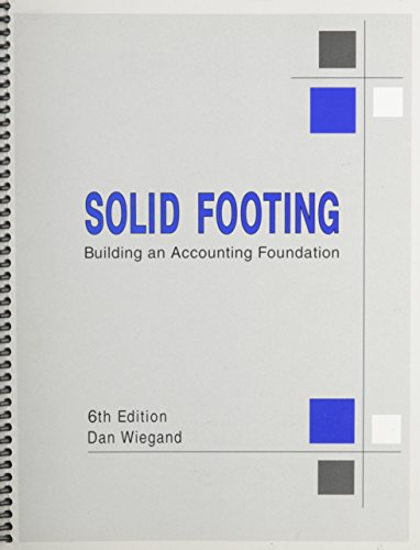 Solid footing building an accounting foundation abebooks solid footing building an accounting foundation 6th dan wiegand fandeluxe Images