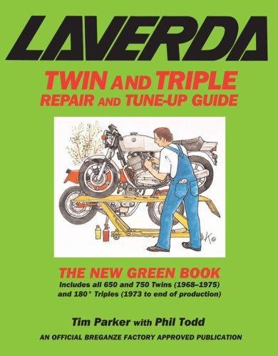 9780979689109: Laverda Twin and Triple Repair and Tune-up Guide: The New Green Book