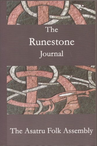 9780979718809: Runestone Journal, Issue 1