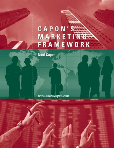 Capon's Marketing Framework: Noel Capon