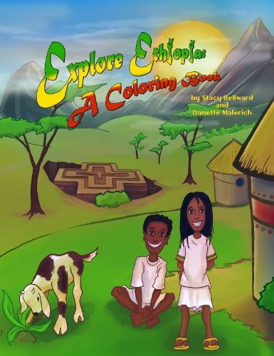 9780979748127: Explore Ethiopia - A Coloring Book