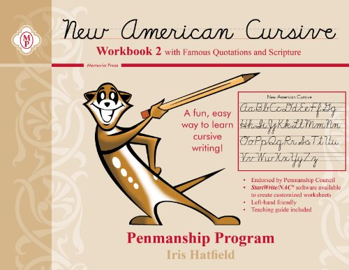 9780979767814: New American Cursive Workbook 2 With Famous Quotations and Scripture