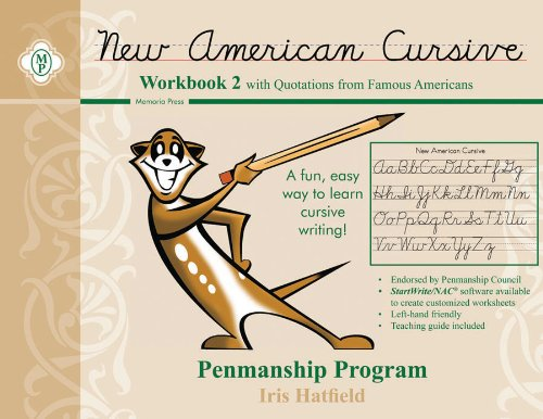 9780979767821: New American Cursive Penmanship Program: Workbook 2 With Quotations from Famous Americans