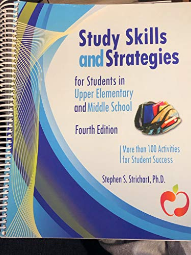 9780979772368: Study Skills and Strategies for Students in Upper Elementary and Middle School