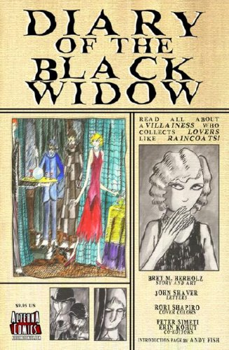 9780979787416: Diary of the Black Widow