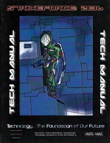 9780979820311: Strikeforce 2136 Tech Manual