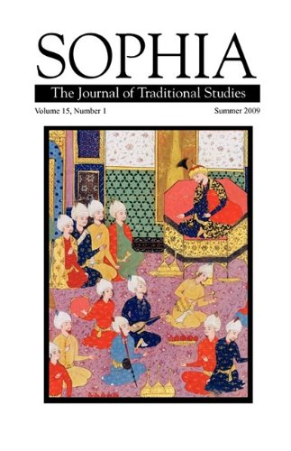 9780979842955: Sophia: The Journal of Traditional Studies