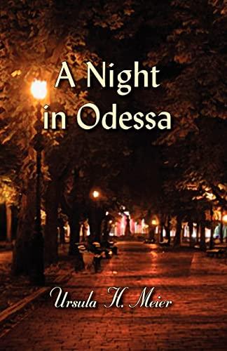 9780979863349: A Night in Odessa