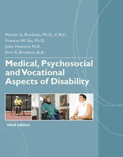 9780979878657: Medical, Psychosocial and Vocational Aspects of Disability