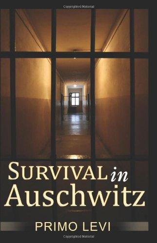 Survival In Auschwitz: Primo Levi