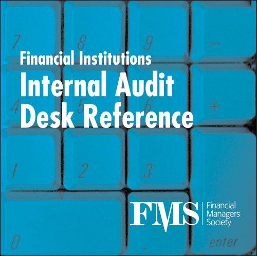 9780979907753: Financial Institutions Internal Audit Desk Reference