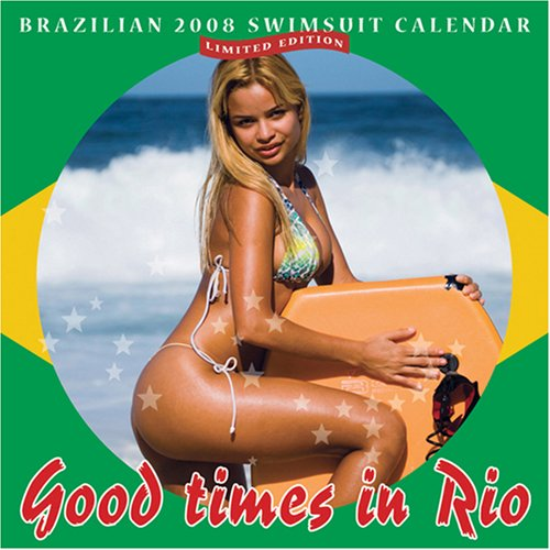 9780979925108: Brazilian 2008 Swimsuit Calendar