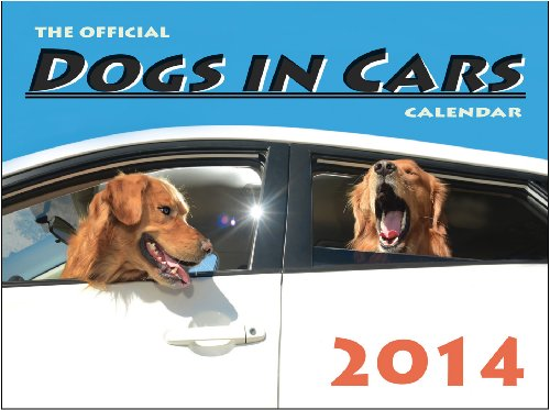 9780979929649: The Official DOGS IN CARS Calendar