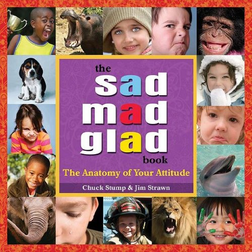 The Sad Mad Glad Book - The: Chuck Stump, Jim