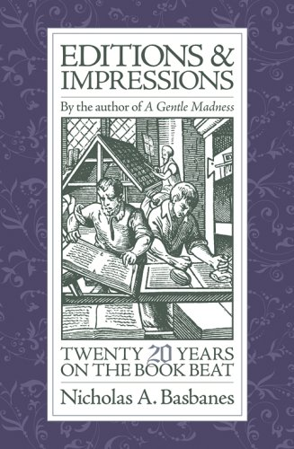9780979949104: Editions & Impressions: My Twenty Years on the Book Beat