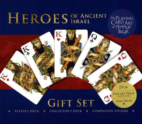 9780979954641: Heroes of Ancient Israel: The Playing Card Art of Arthur Szyk Gift Set (King David Edition)