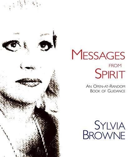 9780980028867: Messages from Spirit: An Open-At-Random Book of Guidance