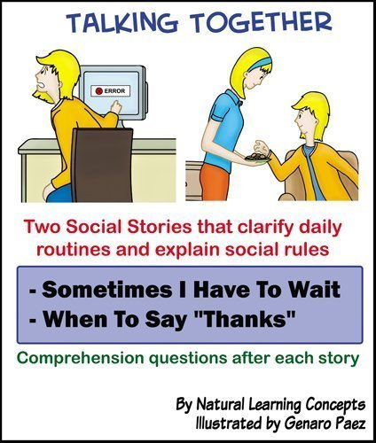 9780980030037: Social Story - Sometimes I Have to Wait and When to Say Thanks (Talking Together Social Stories)