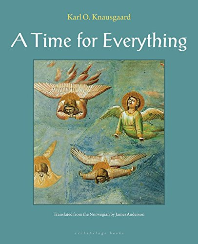 A Time for Everything 9780980033083 In the sixteenth century, Antinous Bellori, a boy of eleven, is lost in a dark forest and stumbles upon two glowing beings, one carrying a spear, the other a flaming torch ... This event is decisive in Bellori's life, and he thereafter devotes himself to the pursuit and study of angels, the intermediaries of the divine. Beginning in the Garden of Eden and soaring through to the present, A Time for Everything reimagines pivotal encounters between humans and angels: the glow of the cherubim watching over Eden; the profound love between Cain and Abel despite their differences; Lot's shame in Sodom; Noah's isolation before the flood; Ezekiel tied to his bed, prophesying ferociously; the death of Christ; and the emergence of sensual, mischievous cherubs in the seventeenth century. Alighting upon these dramatic scenes – from the Bible and beyond – Knausgaard's imagination takes flight: the result is a dazzling display of storytelling at its majestic, spellbinding best. Incorporating and challenging tradition, legend, and the Apocrypha, these penetrating glimpses hazard chilling questions: can the nature of the divine undergo change, and can the immortal perish?