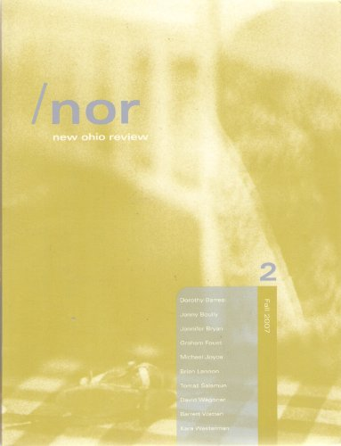NOR - New Ohio Review - Volume: Abel, David &
