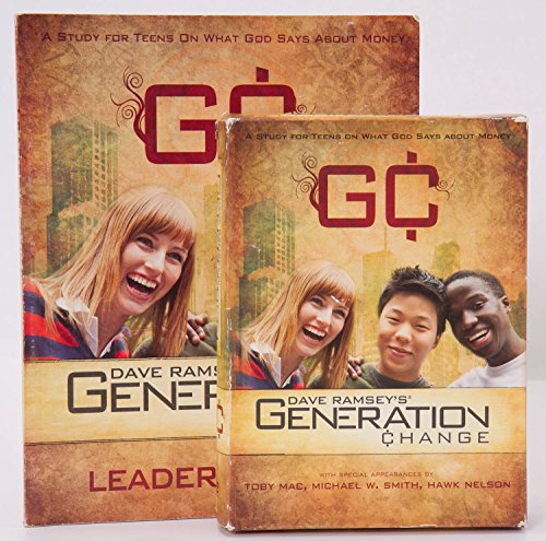 9780980087307: Dave Ramseys Generation Change: A Study for Teens On What God Says About Money
