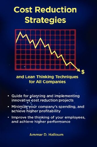 9780980119718: Cost Reduction Strategies
