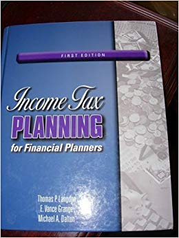 9780980129960: INCOME TAX PLANNING F/FINANCIAL PLANNER