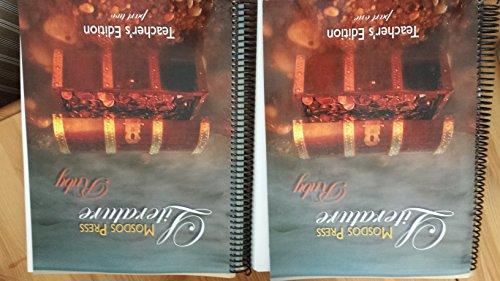 9780980167023: Mosdos Press Literature Ruby Teacher's Edition Spiral Bound 2 Book Set