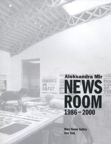 9780980171501: Aleksandra Mir: Newsroom 1986-2000