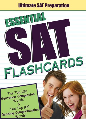 The PowerScore Essential SAT Flashcards: The Top 100 Sentence Completion Words & the Top 100 Reading Comprehension Words (Powerscore Test Preparation) (0980178231) by Victoria Wood