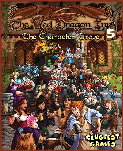 9780980209273: Red Dragon Inn 5 the Character Trove