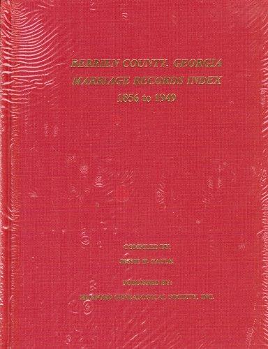 Berrien County, Georgia Marriage Records Index, 1856-1949: Jessie H. Paulk