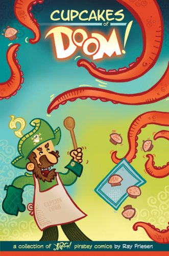 9780980231410: Cupcakes of Doom: A Collection of Yarg! Piratey Comics