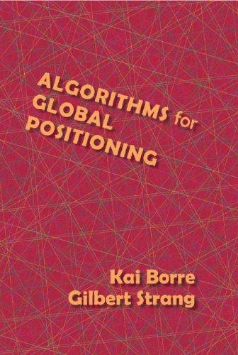 9780980232738: Algorithms for Global Positioning