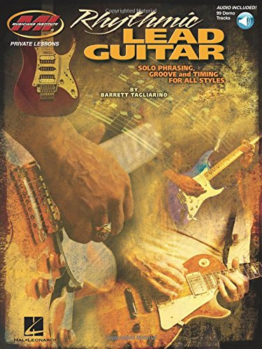 9780980235326: Rhythmic Lead Guitar: Solo Phrasing, Groove and Timing for All Styles