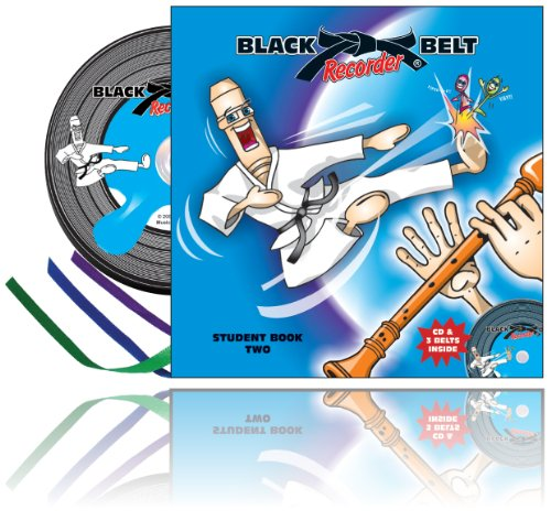 9780980347432: Black Belt Recorder - Student Book Two Book & CD