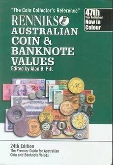 Renniks Australian Coin & Banknote Values (24th: Alan B. Pitt