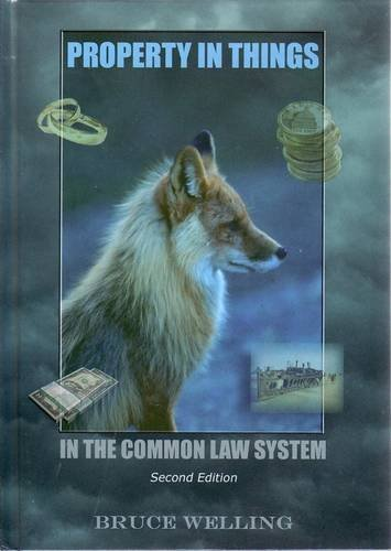 9780980557008: Property in Things in the Common Law System