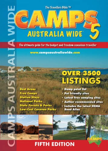 9780980570311: Camps Australia Wide: The Ultimate Guide for the Budget Conscious and Freedom Traveller - HEMA.A.13
