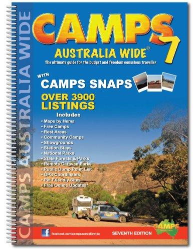 9780980570380: Camps Australia Wide 7 B4 spir. incl. camps snaps