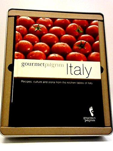 9780980768237: Gourmet Pilgrim Italy Cookbook