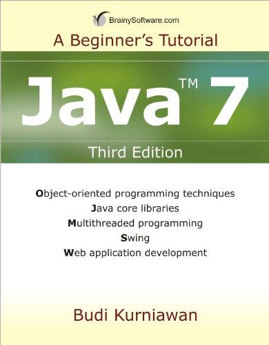 9780980839616: Java 7: A Beginner's Tutorial