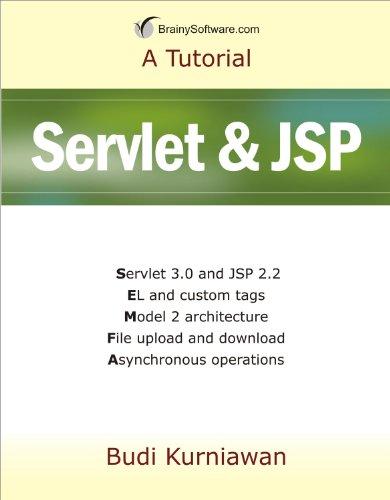 9780980839623: A Tutorial: Servlet & JSP