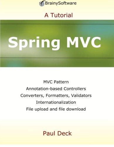 9780980839654: Spring MVC (A Tutorial series)