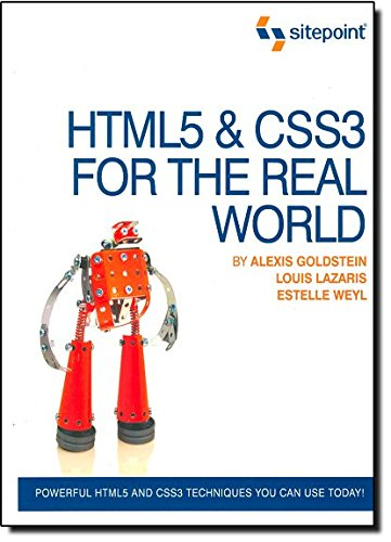 9780980846904: HTML5 & CSS3 For The Real World