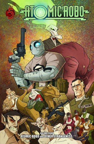 9780980930283: Atomic Robo, Vol. 4: Other Strangeness