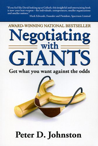 9780980942118: Negotiating with Giants: Get What You Want Against the Odds