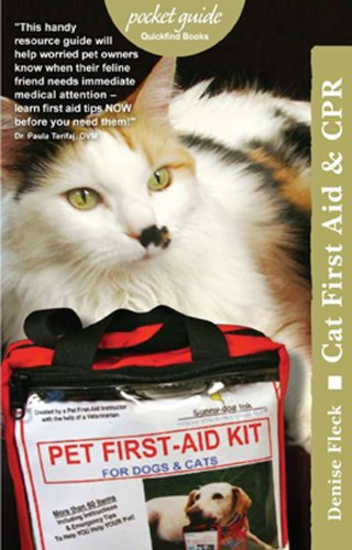 Cat First Aid & CPR (Pocket Guides (Quick Guides)): Fleck, Denise