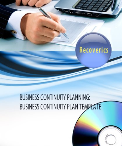 9780981188409: Business Continuity Planning: Business Continuity Plan Template